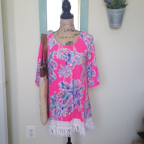 ce6510b754fcf Lilly Pulitzer Other - Lilly Pulitzer Alia Beach Dress Swimsuit Cover-Up